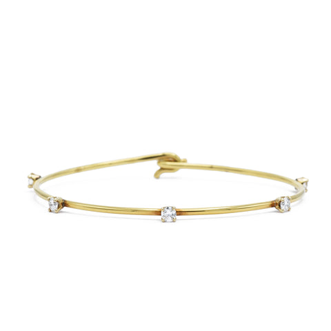 Estate Cartier Diamond Bangle