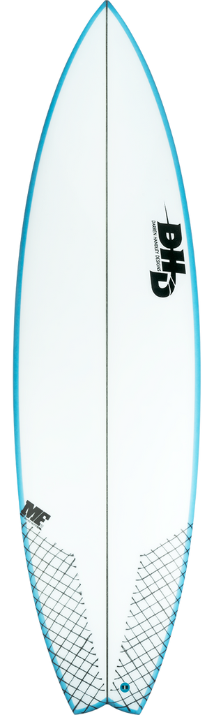 DHD Surfboards - MF Ducknuts JBay