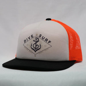 Dive N' Surf Diving Deep Trucker
