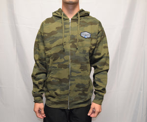 Pull Over Camo Fleece