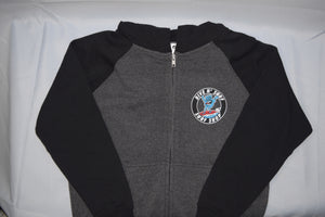 Screaming Shaka Zip-up Youth Hoodie