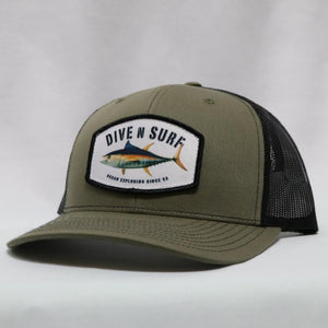 Dive N' Surf Exploring Trucker Hat