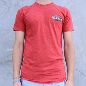 Vintage Heather Red Front
