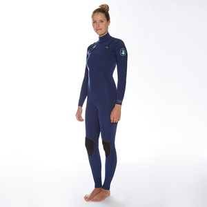 Body Glove Women's Topaz 3/2 Slant Zip Fullsuit