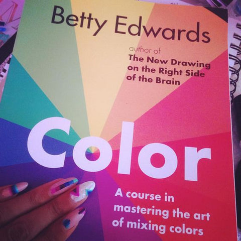 Betty Edwards on color theory