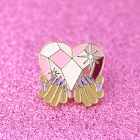 """Queen of Hearts"" Pin"