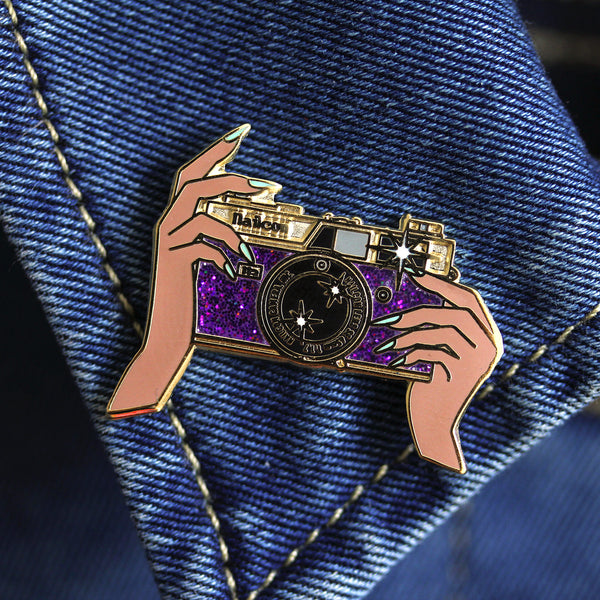 """Strike a pose, you're a STAR"" pin"
