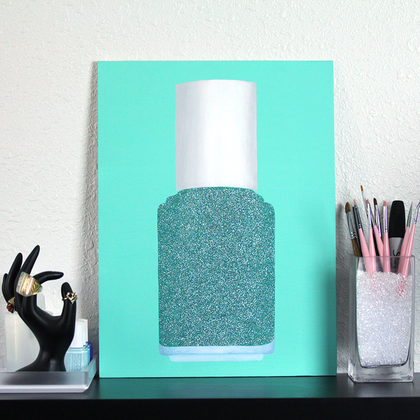 Glitter Polish Portrait - Sea Breeze