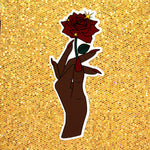 """Beautiful Nails, Beautiful Life"" sticker (Nubian)"