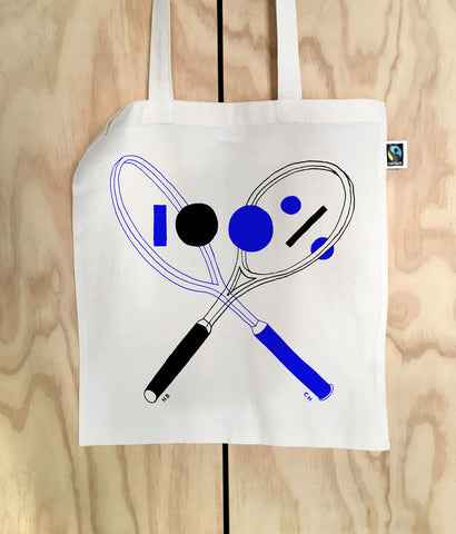 100% Press tote bag