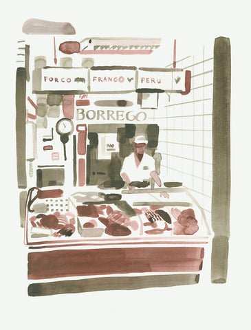 Butcher in Olhão