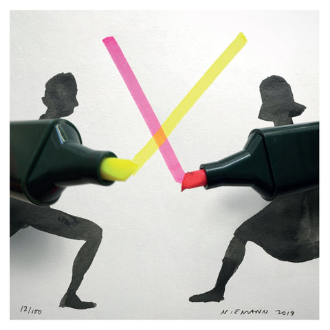 Sunday Sketch (Light Sabers)