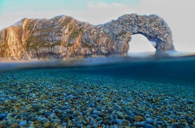 My Durdle Door Picture Made it to BBC News & The Bournemouth Echo :)