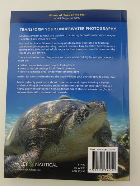 Underwater Photography for Compact Camera Users - My Award Winning Book as Voted by Diver Magazine -