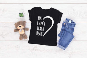 You Can't Teach Heart - Se7enTees