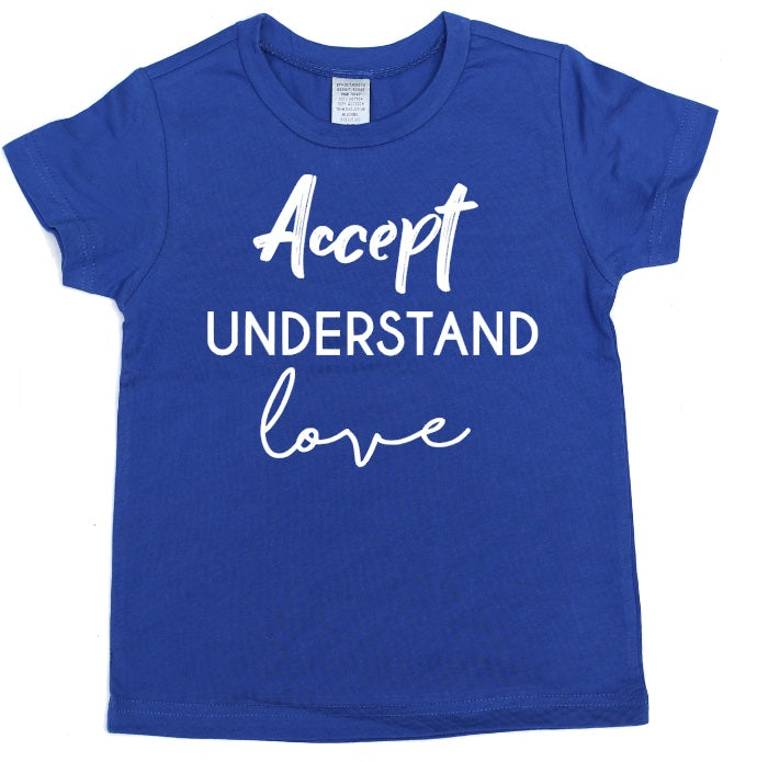 Accept Understand Love - Se7enTees