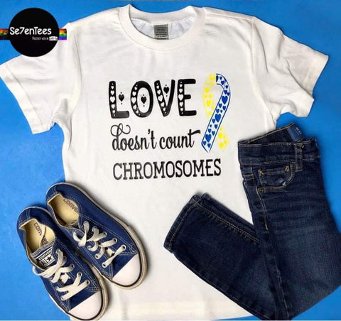 Love Doesn't Count Chromosomes - Se7enTees