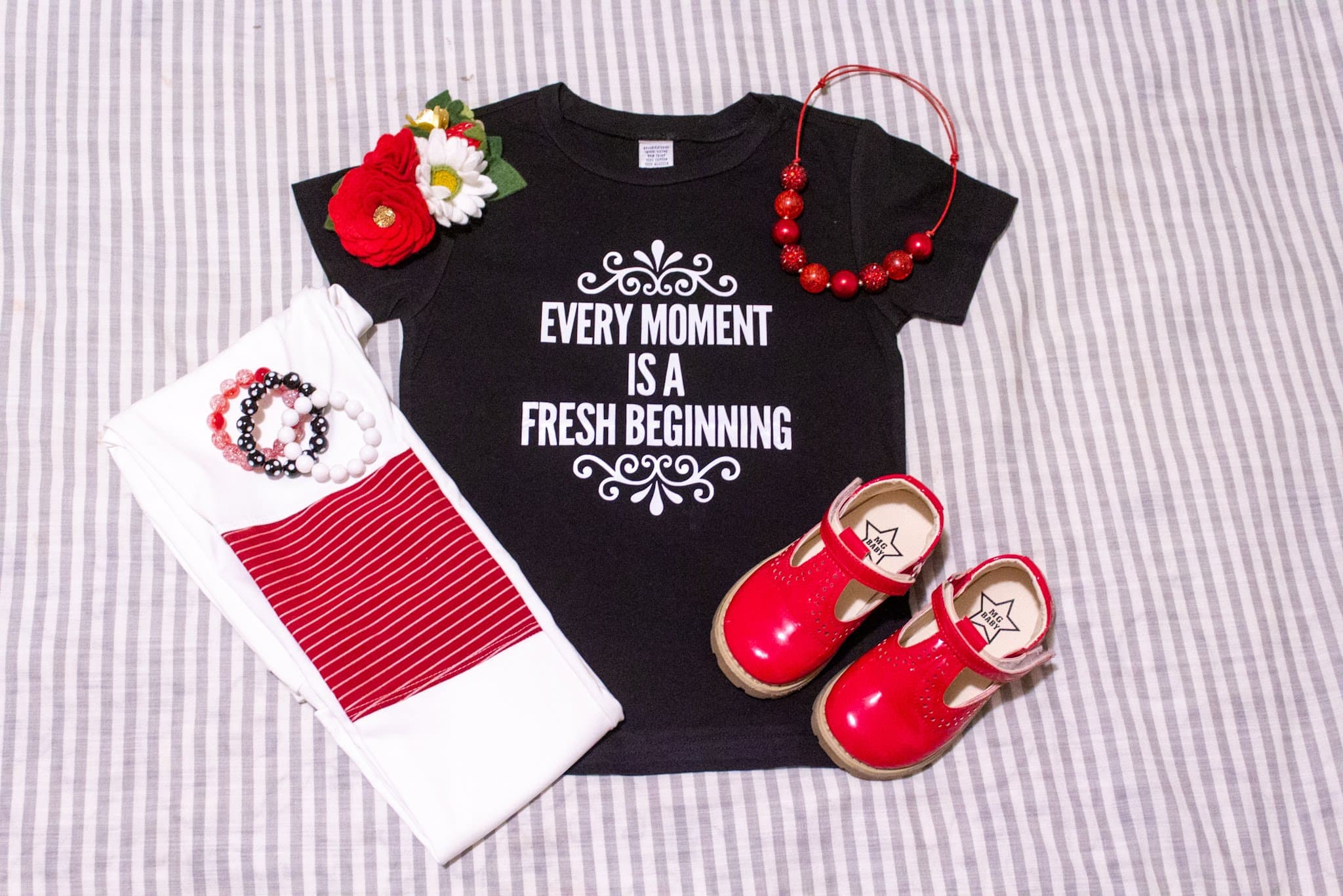 Every Moment Is A Fresh Beginning- B - Se7enTees