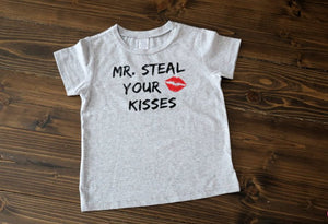 Mr. Steal your kisses & Little Miss Steal your heart - Se7enTees