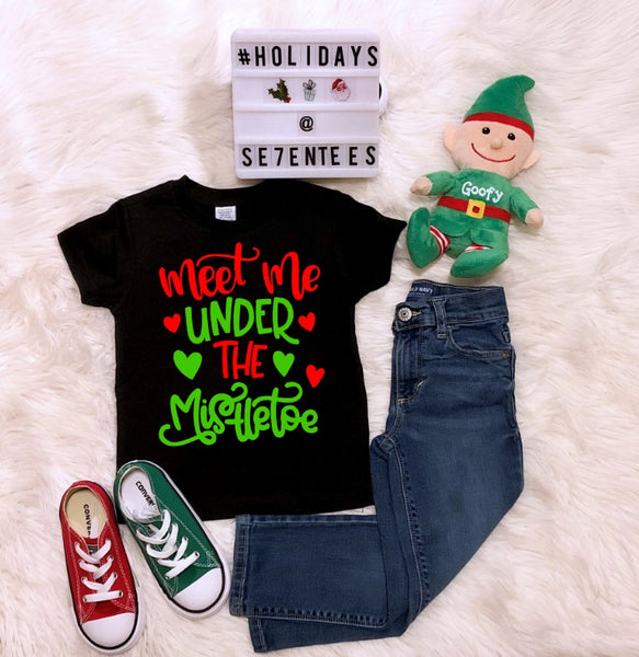 Meet Me Under The Mistletoe - Se7enTees