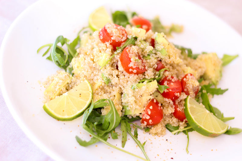 Quinoa and Smoked Tofu Salad for Labor Day Picnic