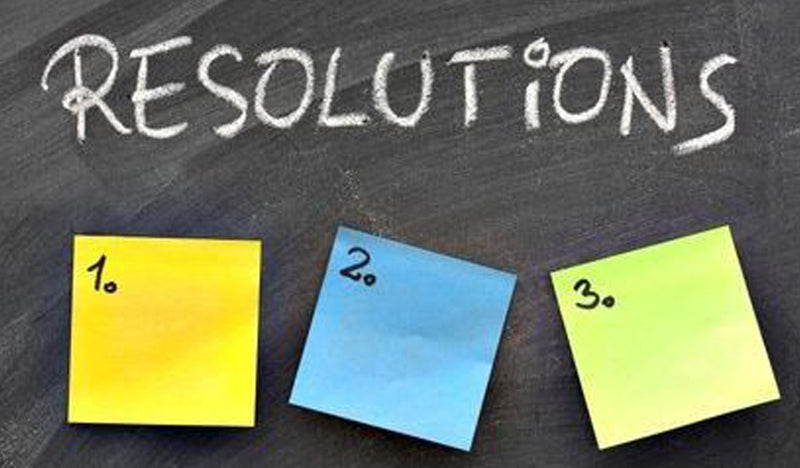 Resolution Solutions from Our Girls!