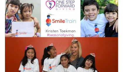 "Therafit Shoe Partners with Smile Train for its ""Season of Giving"" Campaign with Fashion and Lifestyle Blogger and Entrepreneur, Kristen Taekman"