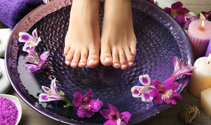 Step by Step Guide to An At-Home Foot Spa