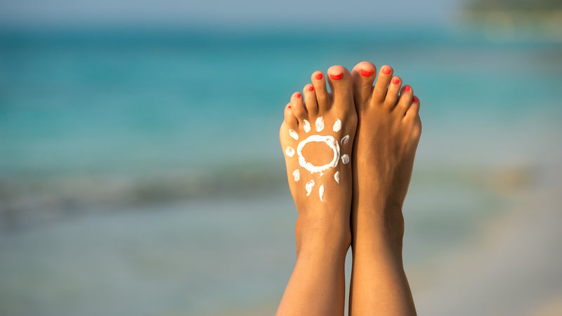 Sunscreen for your feet: The ABCDs of Foot Melanoma