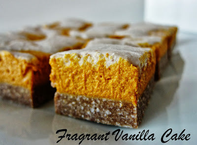 Therafit Pumpkin Cheesecake Bars