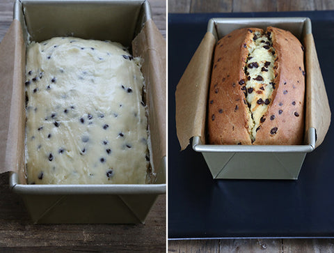 Therafit Gluten Free Yogurt Bread Before and After