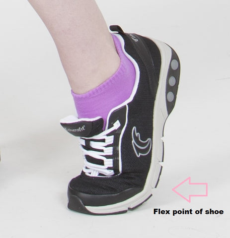 Therafit Flex point of shoe