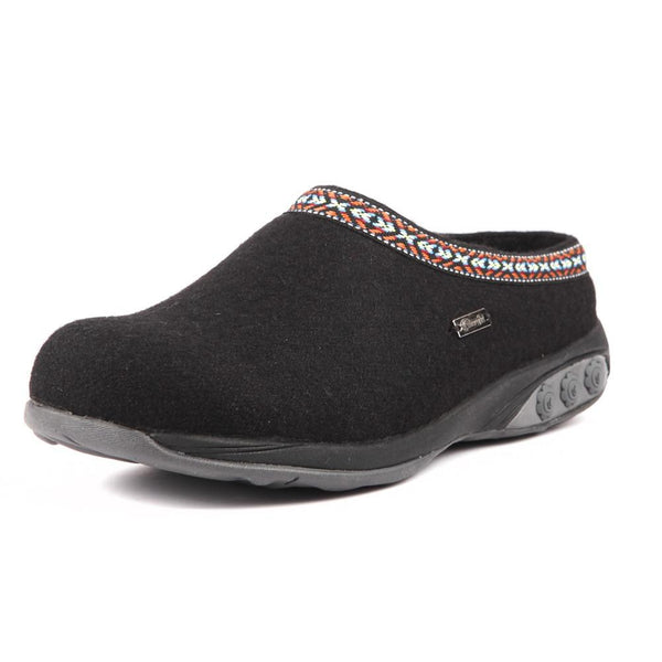 8c08470221e31 Heather Women's Indoor/Outdoor Wool Clog Slipper - Great for Plantar  Fasciitis and Foot Pain - Therafit Shoe