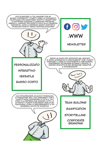 comics for business