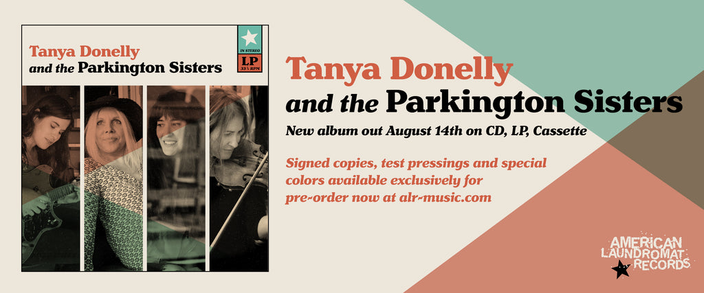 PRE-ORDER TANYA DONELLY AND THE PARKINGTON SISTERS COVERS ALBUM