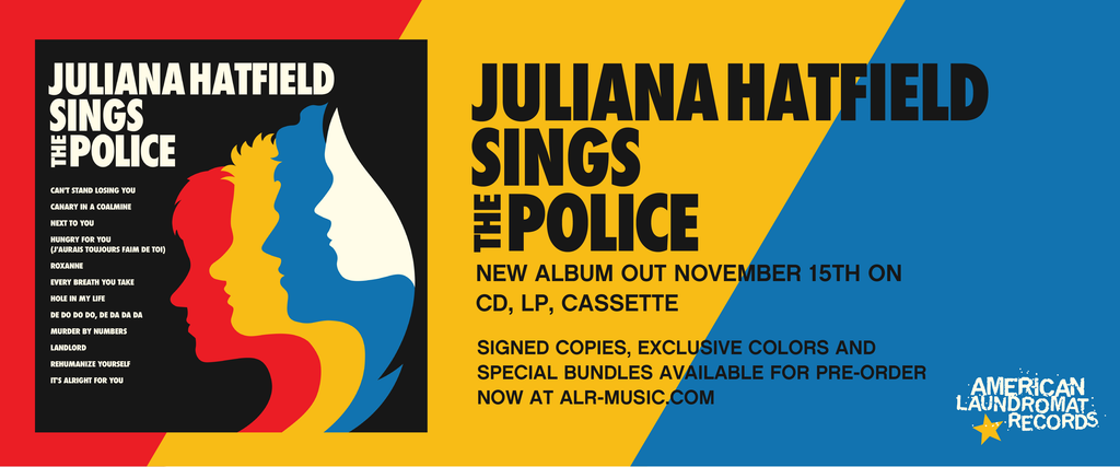 JULIANA HATFIELD ANNOUNCES POLICE TRIBUTE AND SHARES FIRST SINGLE
