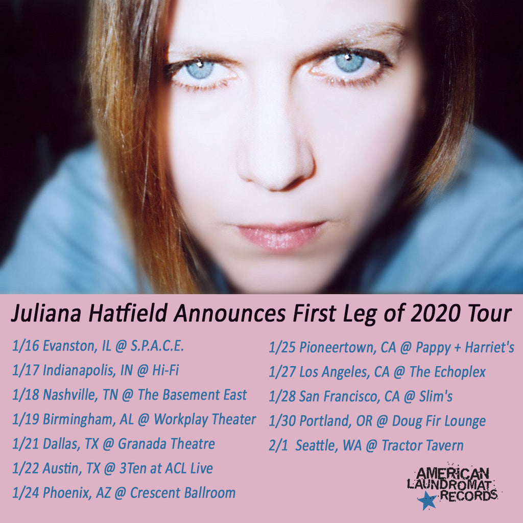 Juliana Hatfield Announces First Leg of 2020 Tour