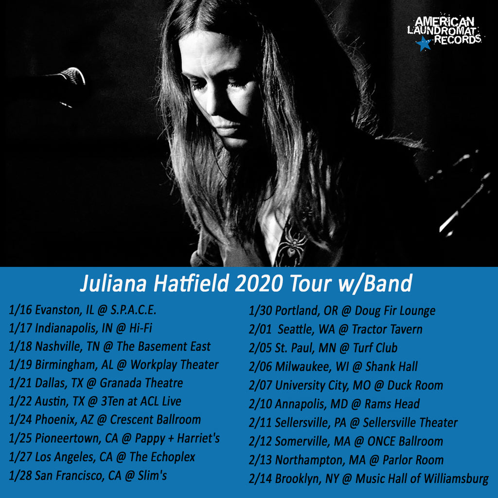 Juliana Hatfield Announces Additional 2020 Tour Dates