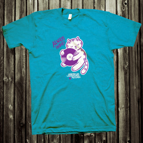ALR Indie Kitty Tee - Turquoise