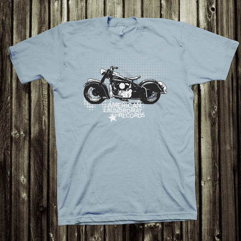 ALR Indian Motorcycle Tee *Light Blue* [PRE-ORDER]