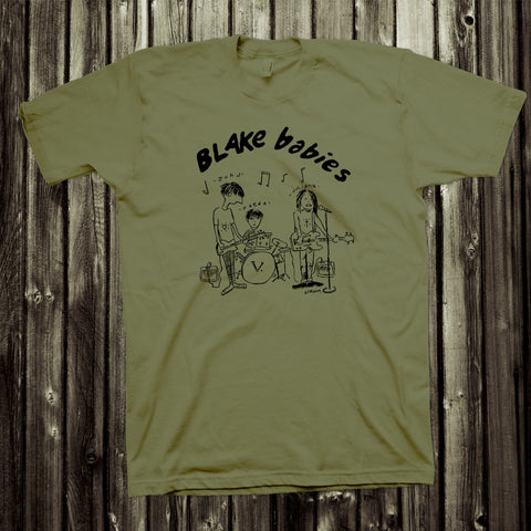 Blake Babies Tee - Army Green *ONLY 2 LEFT*