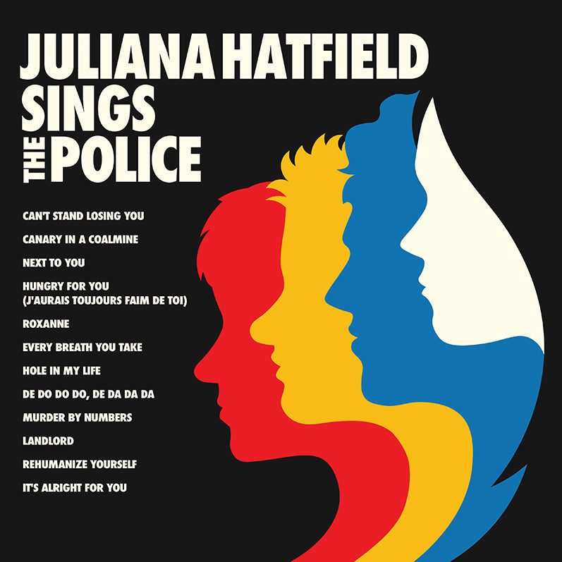 Juliana Hatfield Sings the Police- geëmbed van American Laundromat Records