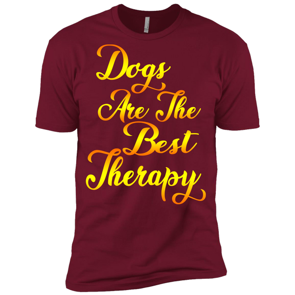 """Dogs Are The Best Therapy"" Shirt. 50% Off Only. Flat Shipping."
