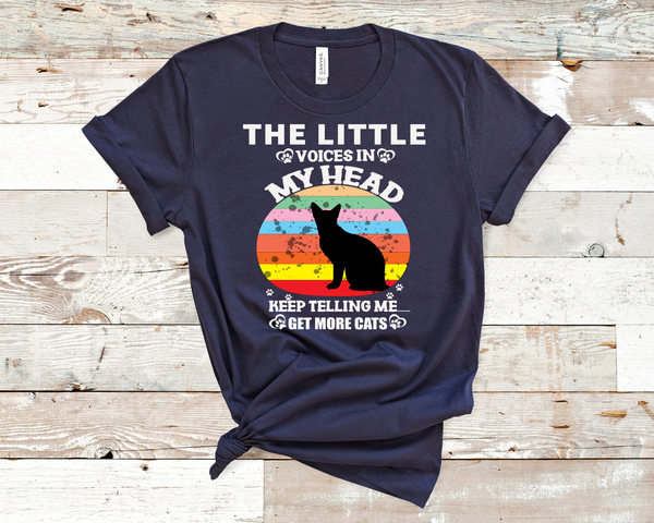 """THE LITTLE VOICE IN"" T-SHIRT"