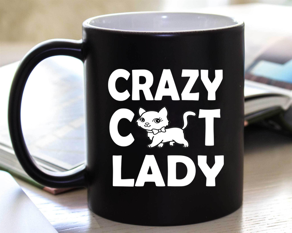 """ CRAZY CAT LADY "" MUG  50% Off Today Only.  Flat Shipping  Mug - Personalized"