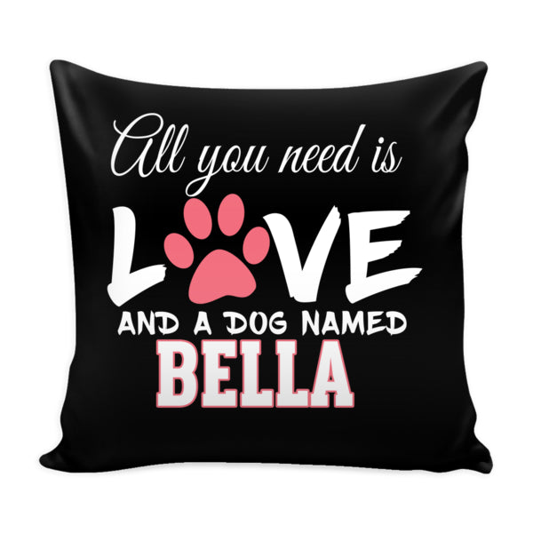 "Dog - ""All You Need Is Love"" Dog Pillowcase - Personalized (70% OFF Today )"