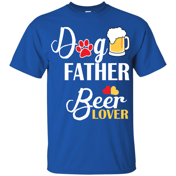"""DOG FATHER BEER LOVER"" Shirt. 50% Off Today Only. . Flat Shipping."