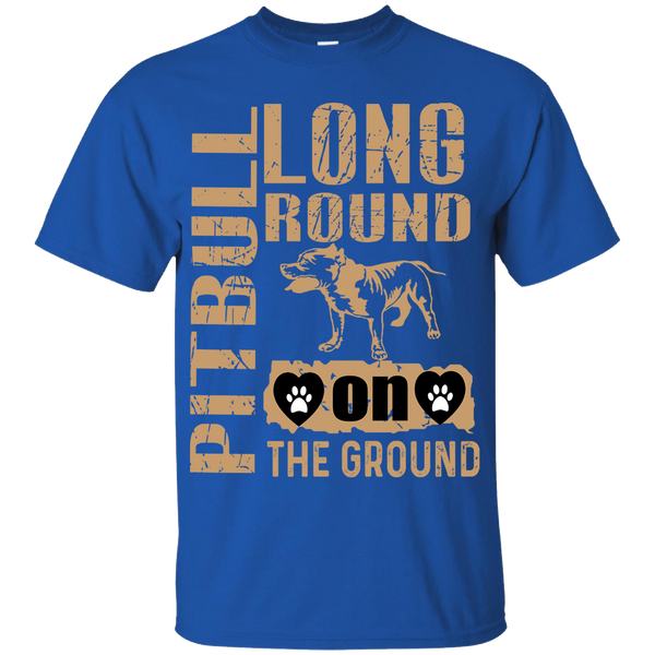 """Long Round On The Ground (Custom Dog Name And Breed) "" 50% Off Today"