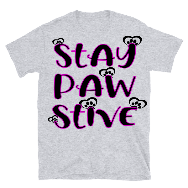 """STAY PAW STIVE"" T-SHIRT"