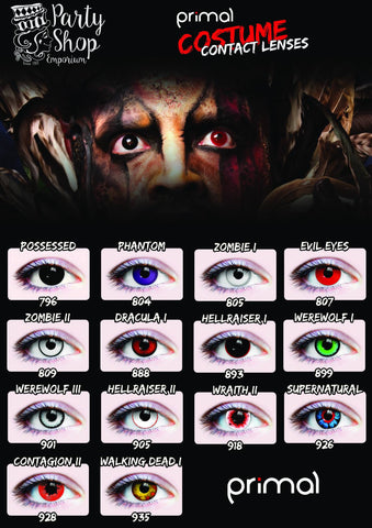 Halloween Contacts in Gainesville